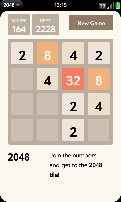 2048 Screenshot 0