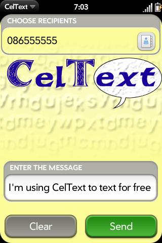 CelText Screenshot 0