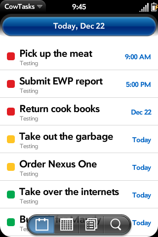 CowTasks Screenshot 0
