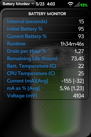 Battery Monitor Screenshot 0
