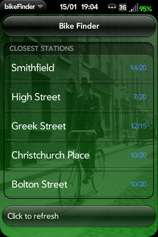 Bike Finder Screenshot 0