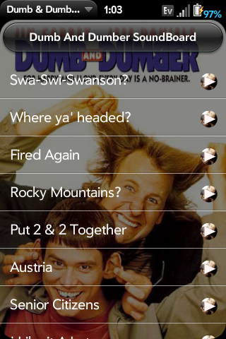 Dumb & Dumber SoundBoard Screenshot 0