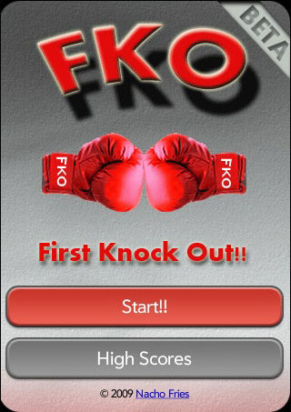 FKO - First Knock Out Screenshot 0