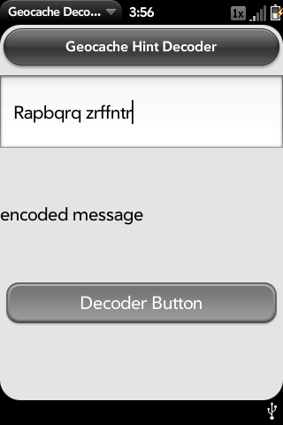 Geocache Decoder Screenshot 0