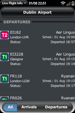 Live Flight Info Screenshot 0