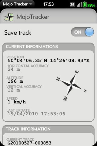 MojoTracker Screenshot 0