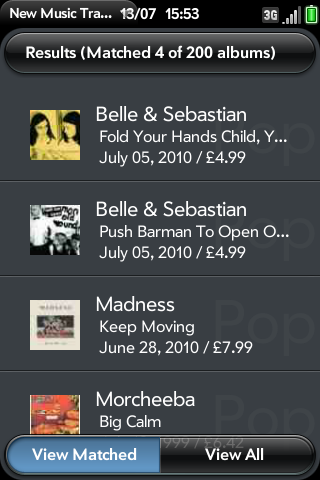 Music Searcher Screenshot 0