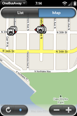 Bus Tracker Screenshot 0
