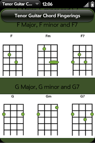 Tenor Guitar Chords Pro | webOS Nation