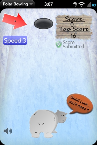 Polar Bowling (advanced beta) Screenshot 0