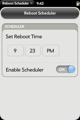 Reboot Scheduler Screenshot 0