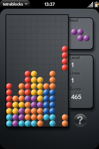 Tetra blocks (tetris) Screenshot 0