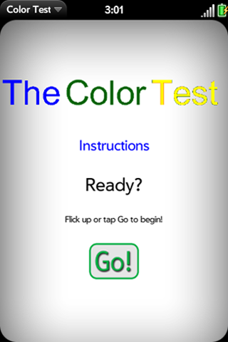 The Color Test Screenshot 0
