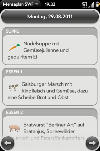 Mensaplan SWF Screenshot 0