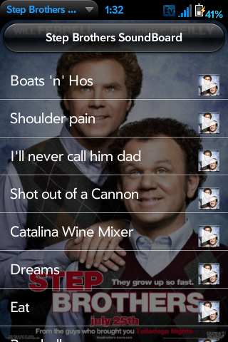 Step Brothers Sound Board Screenshot 0