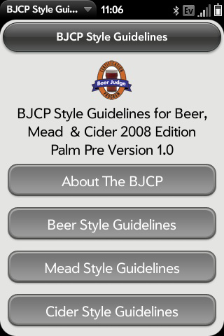 BJCP - Beer, Cider and Mead Style Guidelines Screenshot 0