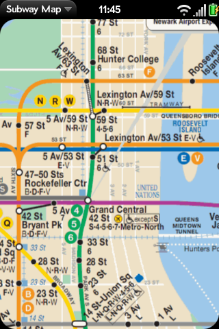 Subway Map Screenshot 0