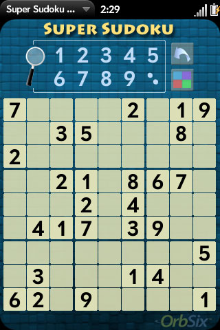 Super Sudoku Demo Screenshot 0