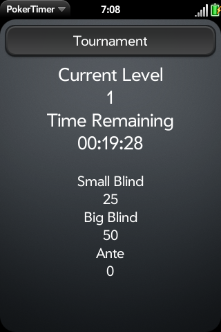 PokerTimer Screenshot 0