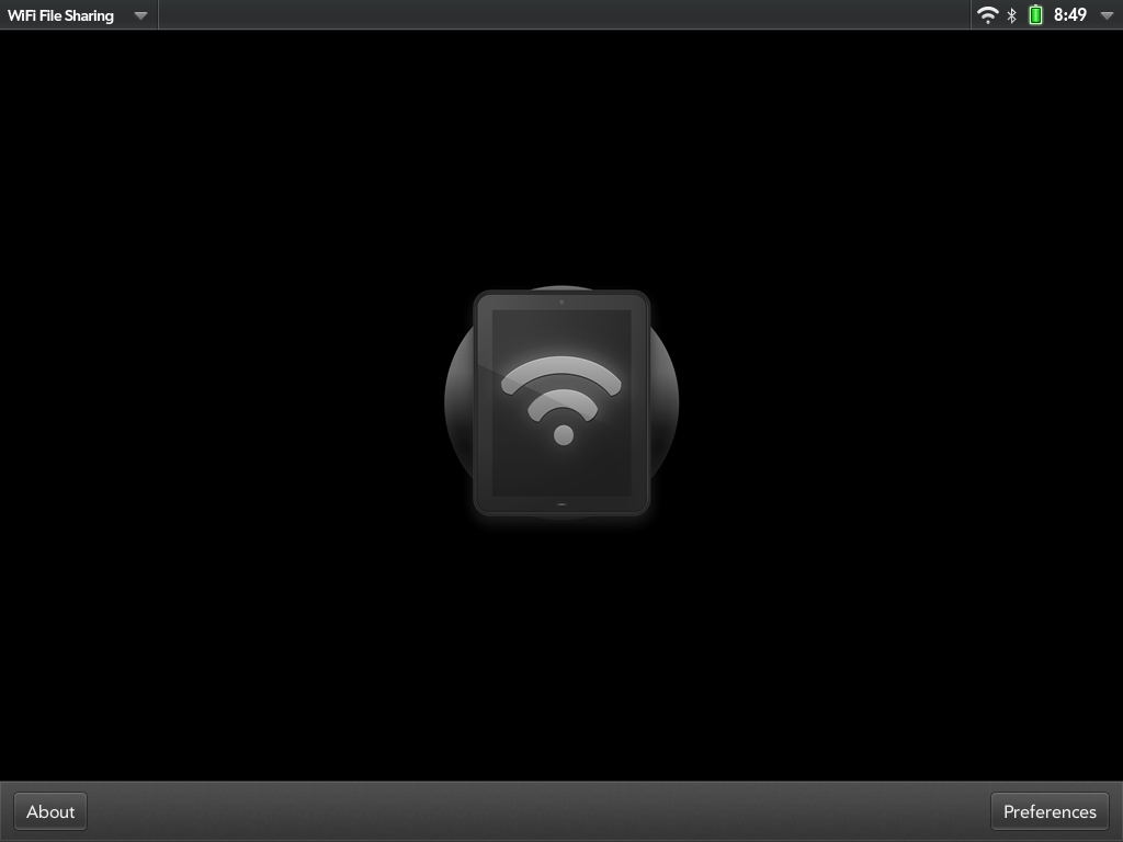 WiFi File Sharing Screenshot 0