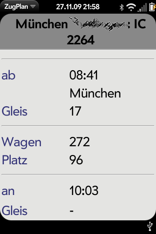 ZugPlan Screenshot 0
