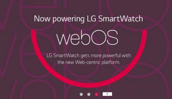 webOS smartwatch from LG. Yes, reallly.