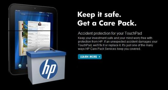 HP Care Pack and Support Center get you up and running with