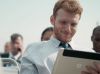 Did HP show off an upcoming tablet in a new commercial?