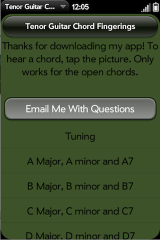 Tenor Guitar Chords Pro Webos Nation