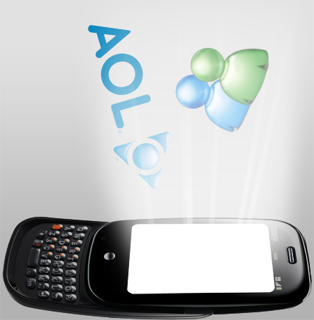 AOL, MSN support found in Palm Pre ROM