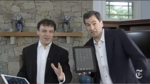 David Pogue TouchPad Video