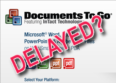 Documents To Go Delayed?