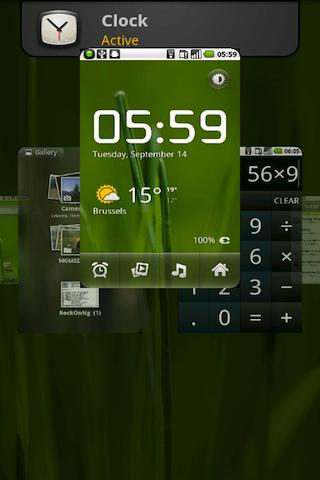 Itching Thumbs card style interface on Android