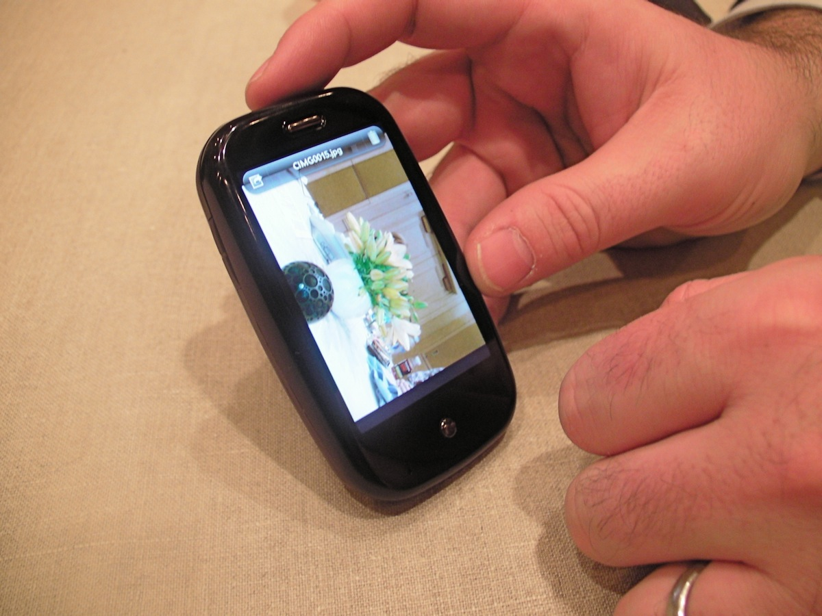 Hands On with the Palm Pre -- with Lots of Photos