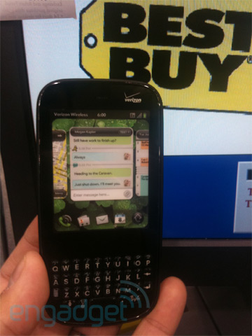 Palm Pixi at Best Buy