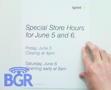 Special Sprint Store Hours