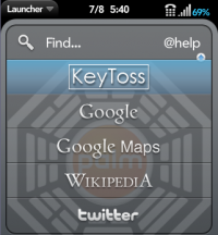 KeyToss Search patch