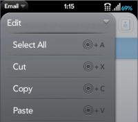 Edit Dropdown Menu