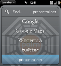 Universal Search - Precentral.net