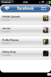 Facebook for webOS