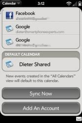 Palm Pre Calendar Preferences Page 3
