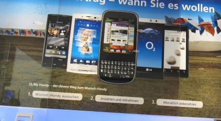 O2 Germany Palm Pixi Poster