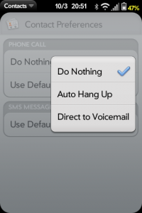 Contact Preferences