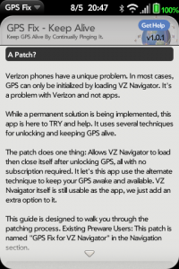 GPS Fix Patch Instructions