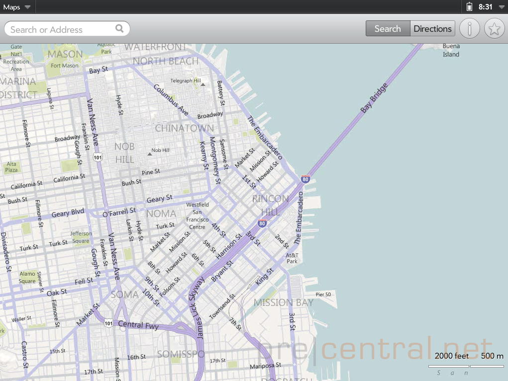 webOS 3 0 screenshots: Bing Maps, Music, and more [Exclusive