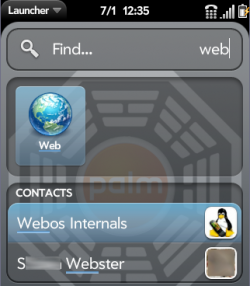 Universal Search - Web