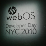 HP webOS Developer Day NYC 2010